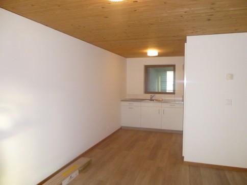 Heimelige, neu renovierte 2 1/2 Wohnung im Zentrum von Brunnadern