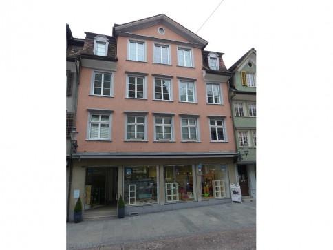 helle 3 1/2-Zimmer-Altstadtwohnung im Herzen von Altstätten