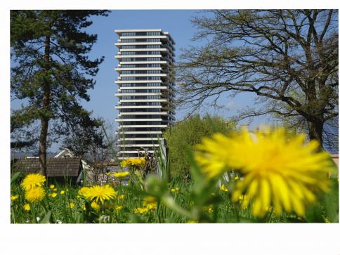 Helvetia-Tower: LETZTE 4 2.5-ZWG mit Fernsicht
