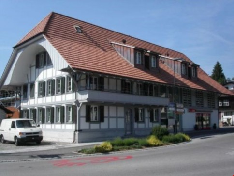Im Dorfkern von Neuenegg wohnen