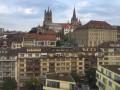 Lausanne-centre / Vue sur la cathédrale