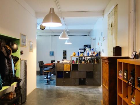Loft/Atelier in ehemaliger Fabrik - mitten im Städtli