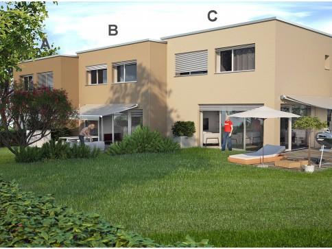Maisons contiguës à vendre situées au centre du village !