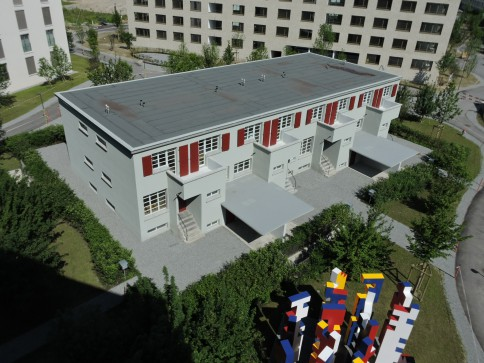 Meilibau - das Reiheneinfamilienhaus im Q1 - Quartier Feldbreite Emmen