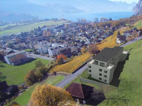 Mit Seesicht: Eigentumswohnung Catisa an Traumlage