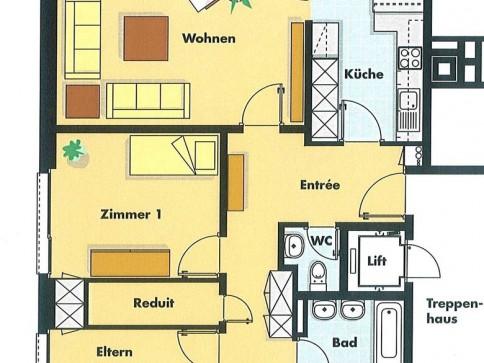 Moderne 4.5 Zi.-Wohnung