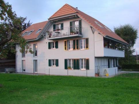 Moderne 4.5 Zi-Dachwohnung im Grünen