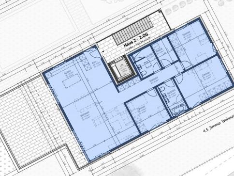 Moderne 4.5-Zimmer Attikawohnung -RESERVIERT-