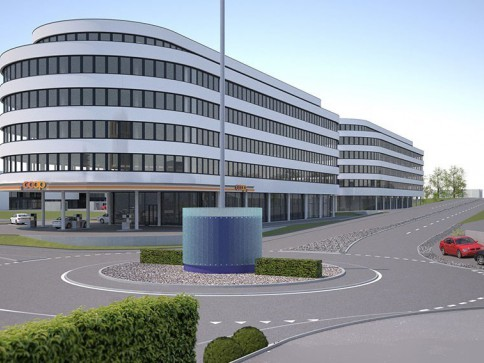 Neubau Büro-/Gewerbehaus an exklusiver Lage