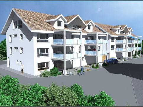 Neue, grosszügige und zentral gelegene Eigentumswohnungen