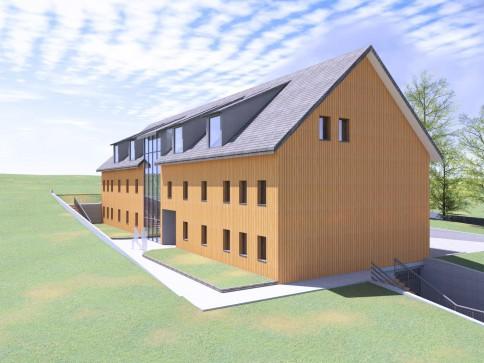 Neues Projekt mit 9 verschiedenen Eigentumswohnungen