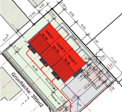 Neues Reiheneinfamilienhaus in Biberist