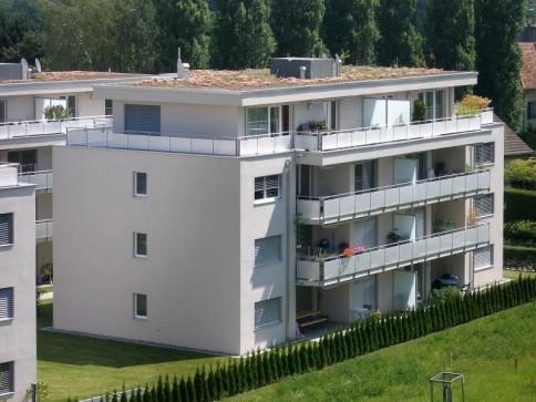 neuwertige moderne 3.5-Zimmer-Wohnung mit eigenem Waschturm