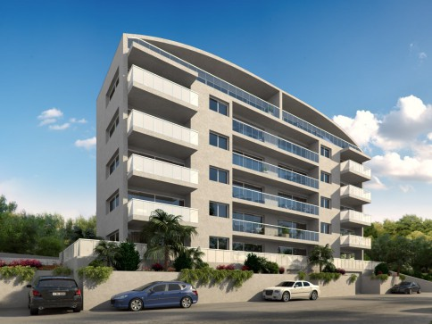 Nuovo appartamento in fase di edificazione