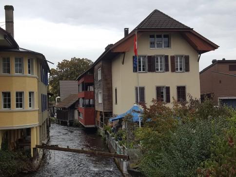 Ruhig gelegene Altbauwohnung mitten in Lenzburg