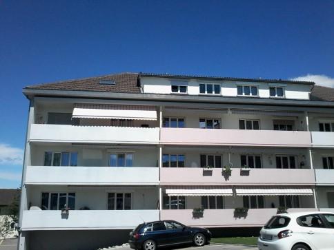 Ruhige Lage / Grosszügiger Balkon / Viel Grünfläche