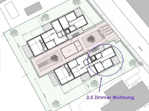 Schöne 2.5-Zimmer Wohnung Erdgeschoss