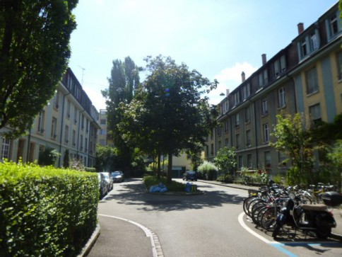Schöne, helle 3-Zi-Wg. (Baumgartnerhaus) an ruhiger Lage im St. Johann