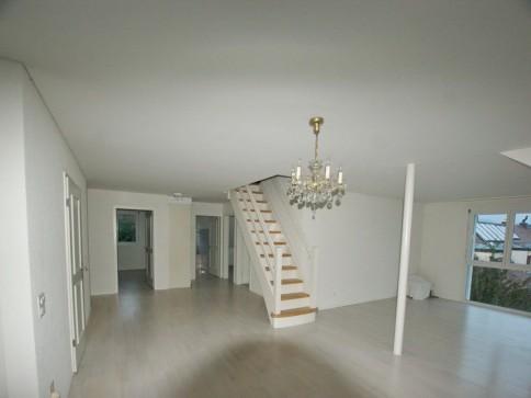 Sehr helle und sonnige 5.5-Zimmer Maisonette-Wohnung mit Alpenblick
