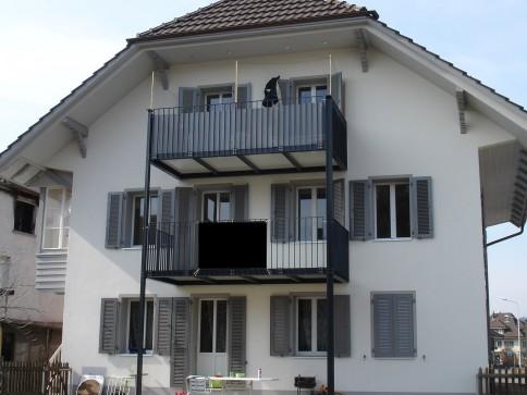 Sonnige, grosse 3.5-Zimmer-Wohnung in Roggwil mit grossem Balkon