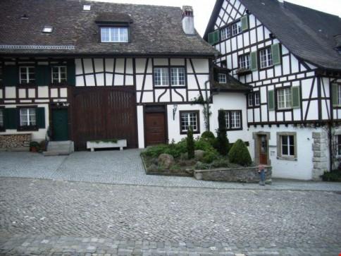 Spezielles Ambiente, Wohngenuss pur! Wohnhaus im Städtchen Regensberg