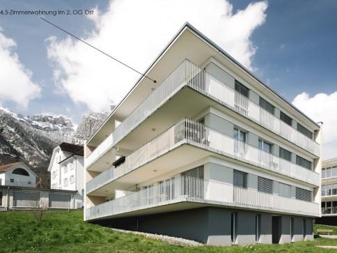 Sportliche 4.5-Zimmerwohnung Nr. 5.6 mit grossem Balkon