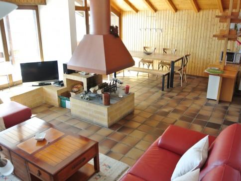 Superbe appartement de 4.5 pces à Ovronnaz, côté sud entièrement vitré