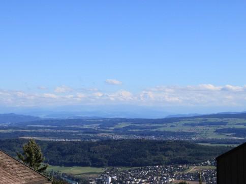 Traum-Baulandparzelle mit einmaliger Alpensicht zu verkaufen
