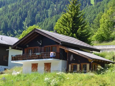 Traum Ferienchalet mit atemberaubendem Ausblick über das Rhône-Tal