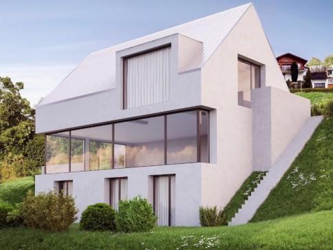 Traumhafte Einfamilienhäuser an unverbaurer Aussichtslage