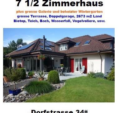 Traumhaus mit Naturparadies und 2673 m2 Landanteil