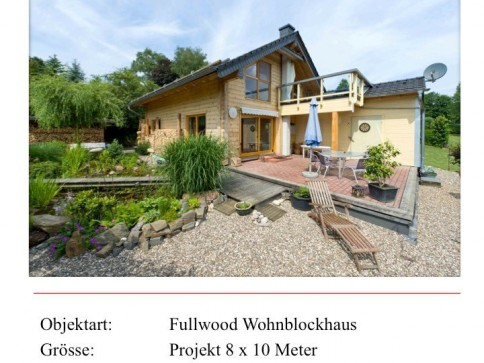 Wohnblockhaus Natur... sucht Land