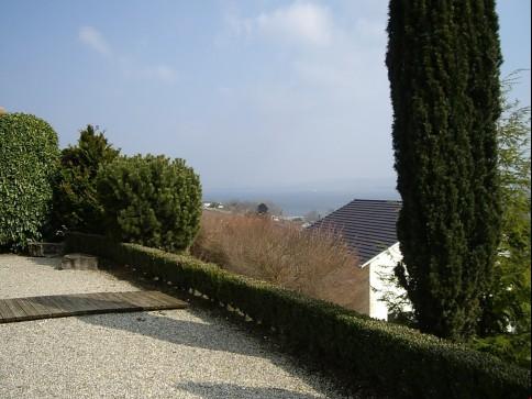 Wohnen mit Blick auf die Alpen und Murtensee