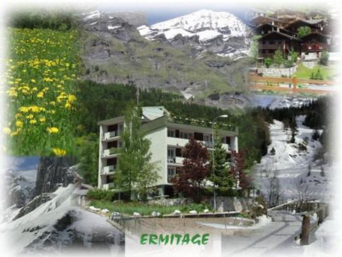 2 Attiques avec terrasse sud 100 m2 à Loèche-Les-Bains/Leukerbad