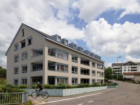 3.5 Zi-Gartenwohnung, Neubau W2