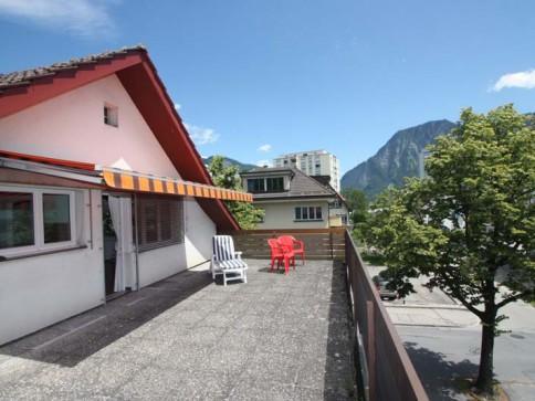 3-Zi.-Dachwohnung mit grosser Dachterrasse
