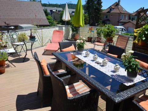 3 Zimmer Wohnung mit grosser Terrasse