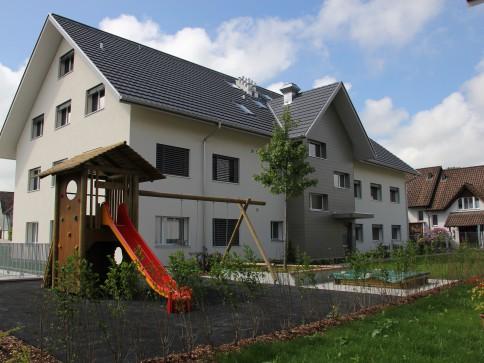 5.5-Zi-Attika/Maisonette Whg (Minergie)im DG West mit gedecktem Balkon