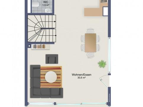 5.5 Zimmer Reiheneinfamilienhaus (Eckhaus) im Oberfeld
