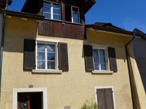 Altstadthaus mit 2 Whg. – Paradies am Fluss – Liebhaberobjekt