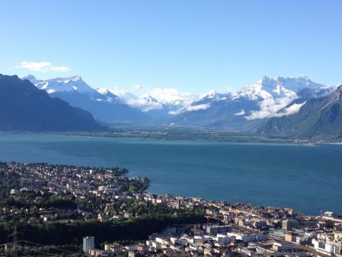 Appartement 4pcs à louer à Chardonne – Splendide vue lac