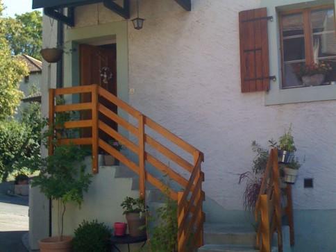 Appartement de 4 pièces dans maison villageoise à Sézegnin