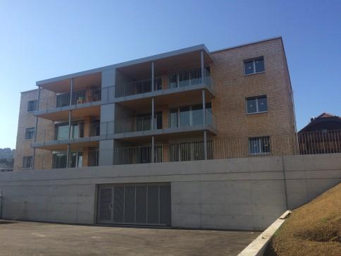 Appartement écologique et durable - Minergie-P-Eco en PPE à Riaz - B01