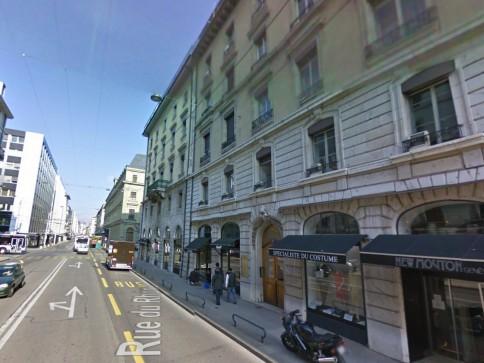 Beaux bureaux avec vue – rue du Rhône