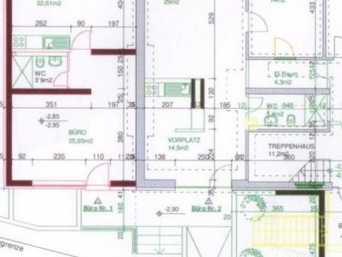 Büroräumlichkeiten in Giebenach mit Küche zu vermieten
