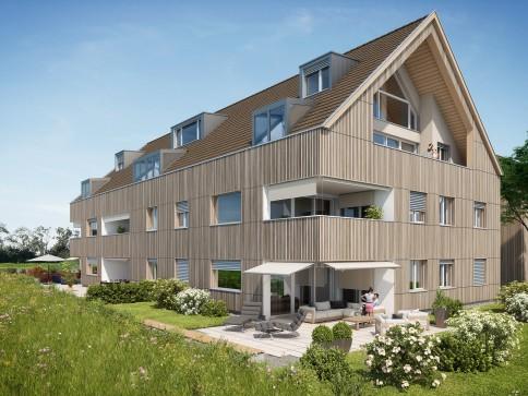 Dach-Maisonettewohnung mit unverbaubarer Weitsicht