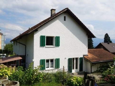 Doppeleinfamilienhaus an erhöhter Südhanglage