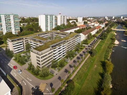 Erstvermietung Birspark Basel / zuhause zwischen Stadt und Birs