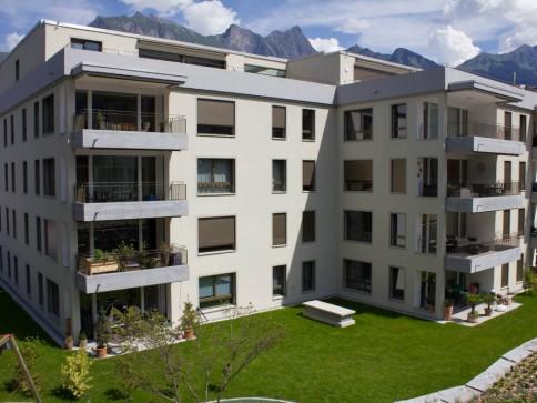 Erstvermietung MFH Conviva in Bad Ragaz