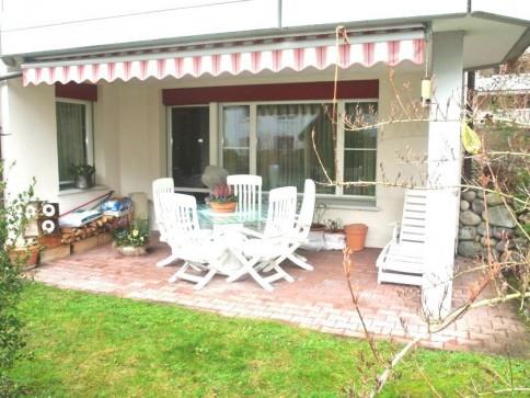 Exklusive Wohnung mit Gartensitzplatz